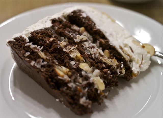Easy Almond Joy Cake