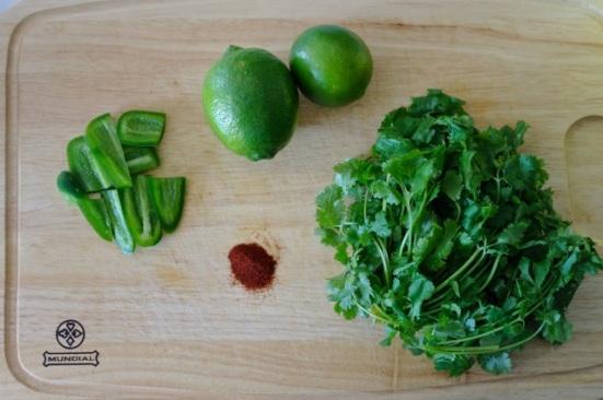 limes cilantro jalapeno paprika