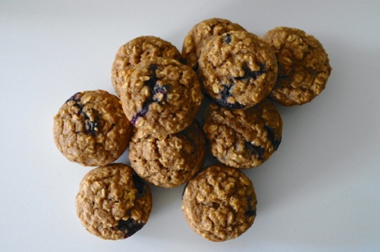 OBA muffins vegan - overview